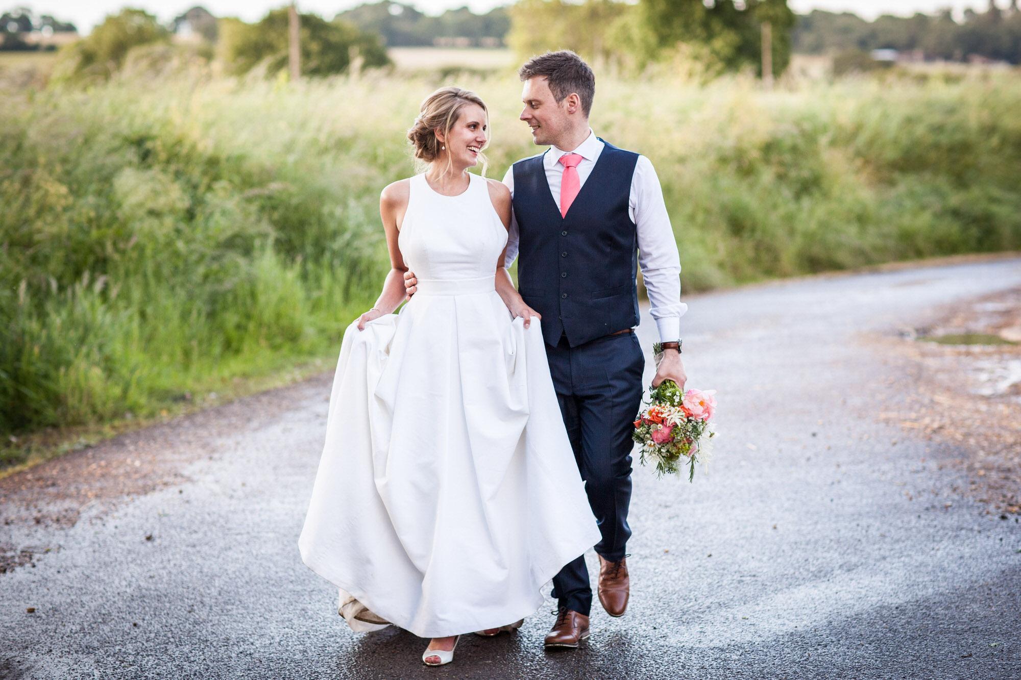 Professional Wedding Photograph of David & Giulietta in West Sussex