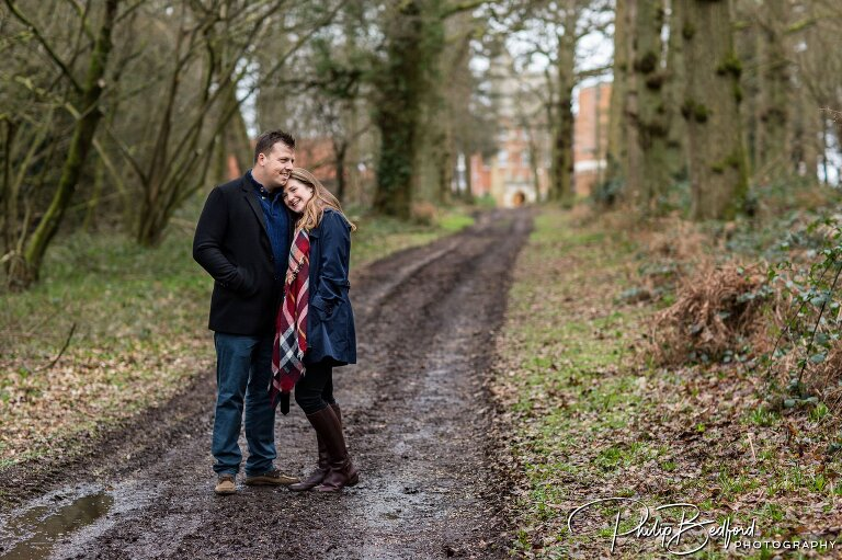 0001 Harriet Daniel Pangbourne College Engagement Photo Shoot Reading Berkshire