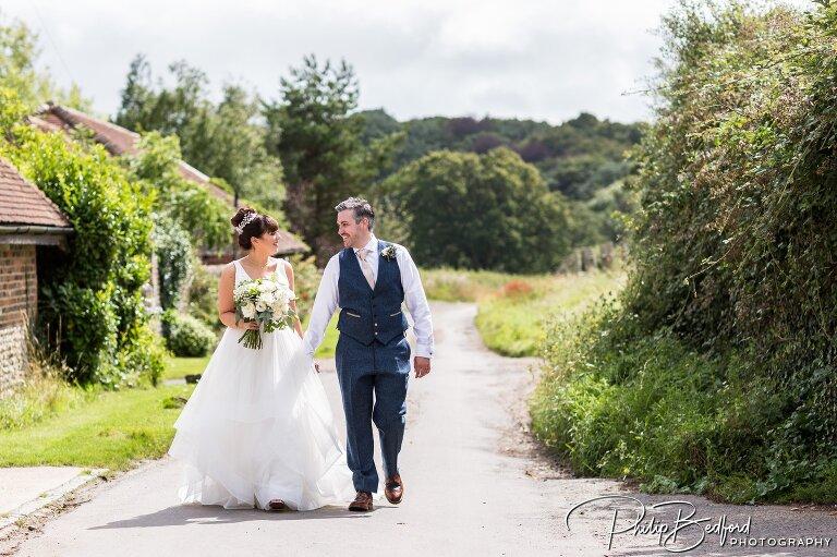 Claire & Richard, Selden Barns Wedding, Worthing, West Sussex